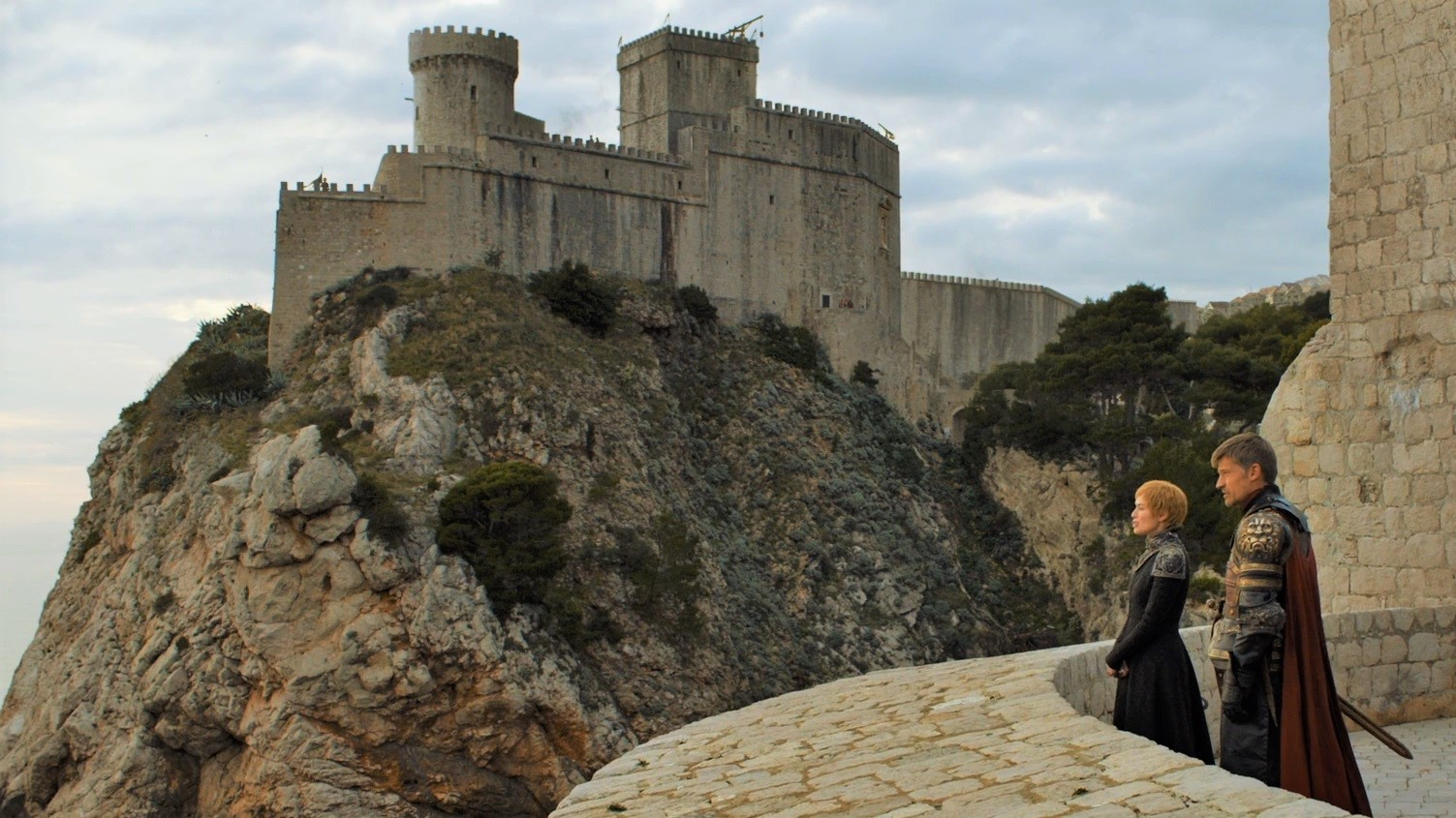 Game of Thrones Filming Locations in Croatia: Fort Lovrijenac