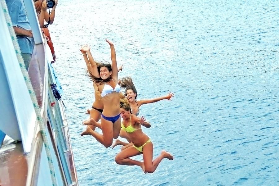 Croatia young fun cruise