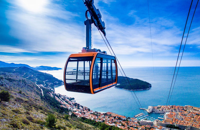 Cable-Car-in-Dubrovnik
