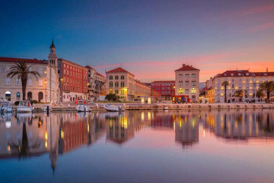 Split-Croatia-at-sunrise